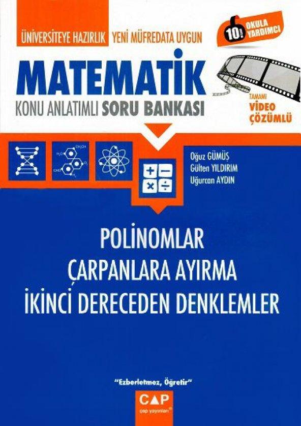 Çap Yayın Üniv. Haz Matematik Polinom Çar. Ayırma - 2019
