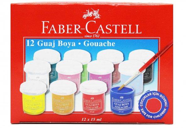 FABER CASTELL GUAJ BOYA 15 ML 12 RENK