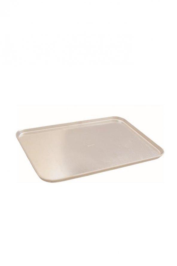 Bakır Sanatı Alüminyum 40x60x2 Poğaça Ekmek Fırın Tavası