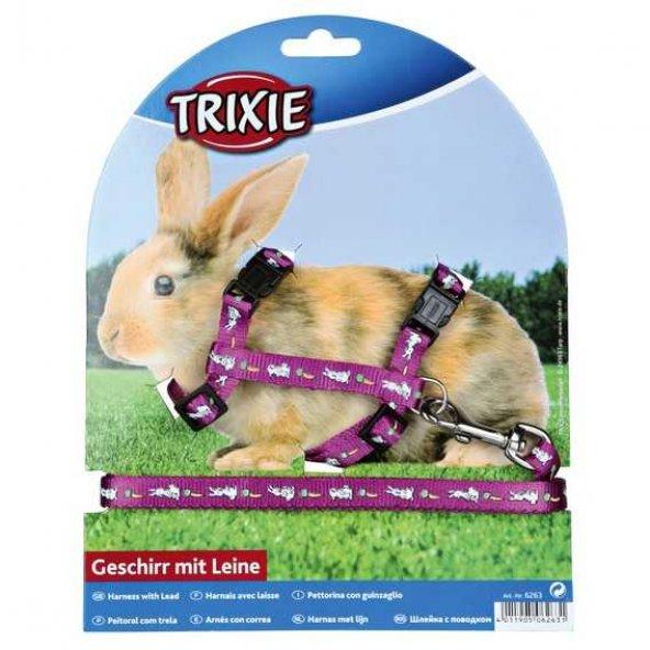 Trixie Tavşan Göğüs Tasma Seti 25–44cm/10 mm