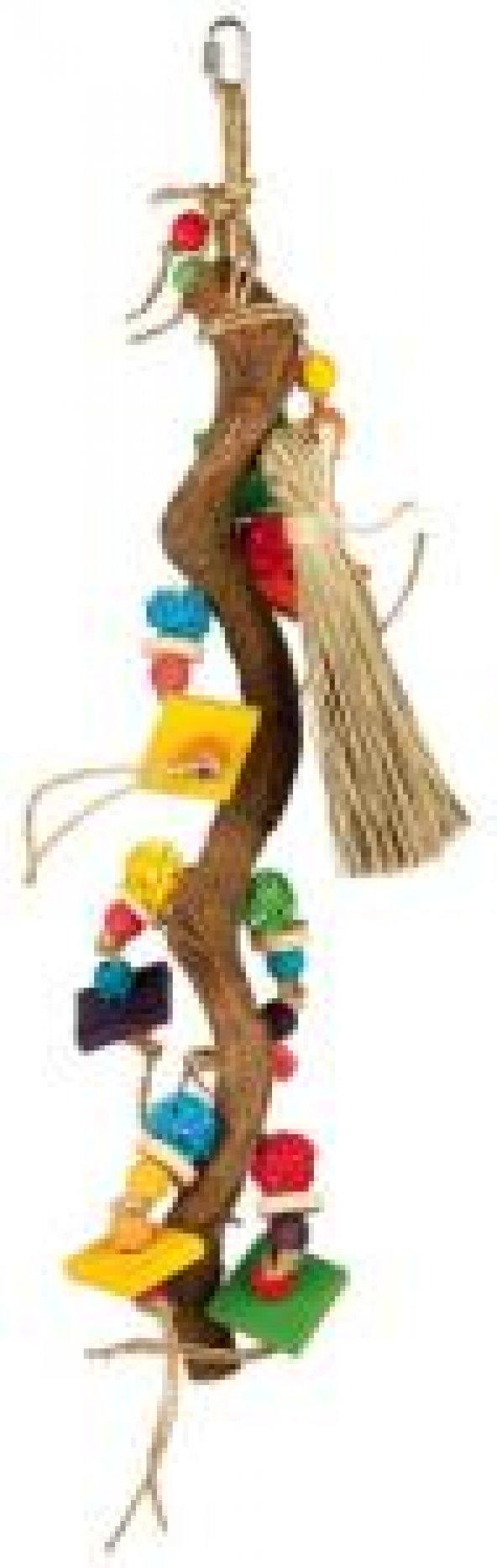 Trixie Paraket Oyuncağı, Askılı ve Zilli, 56cm