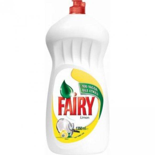 Fairy Sıvı Bulaşık Deterjanı Limon 1350 ml