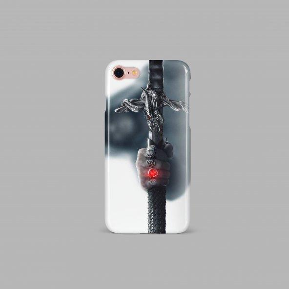Kılıç Tasarımlı Kişiselleştirilebilir Telefon Kılıfı