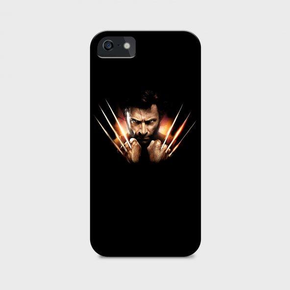 Wolverine Tasarımlı Kişiselleştirilebilir Telefon Kılıfı