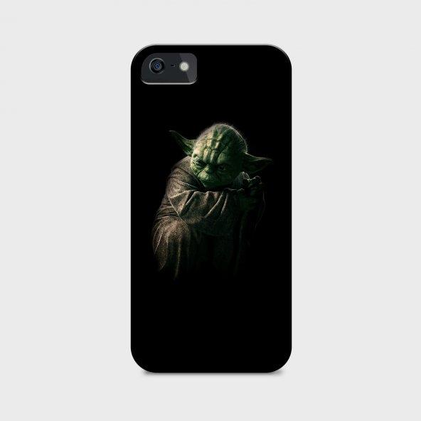 Star Wars Yoda Tasarımlı Kişiselleştirilebilir Telefon Kılıfı