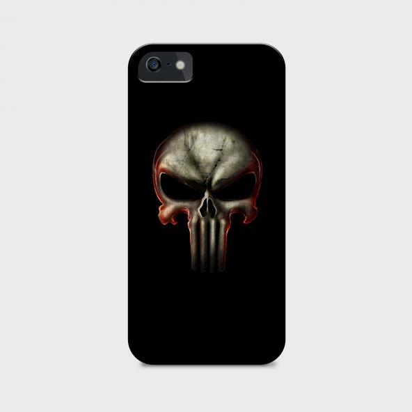 Punisher Tasarımlı Kişiselleştirilebilir Telefon Kılıfı