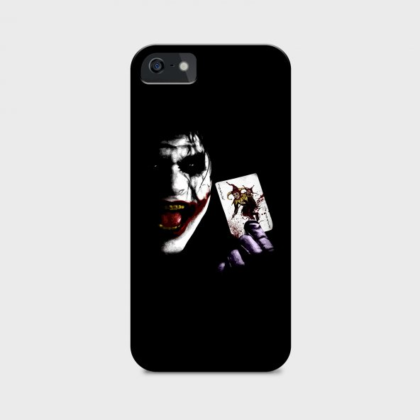 Joker Tasarımlı Kişiselleştirilebilir Telefon Kılıfı