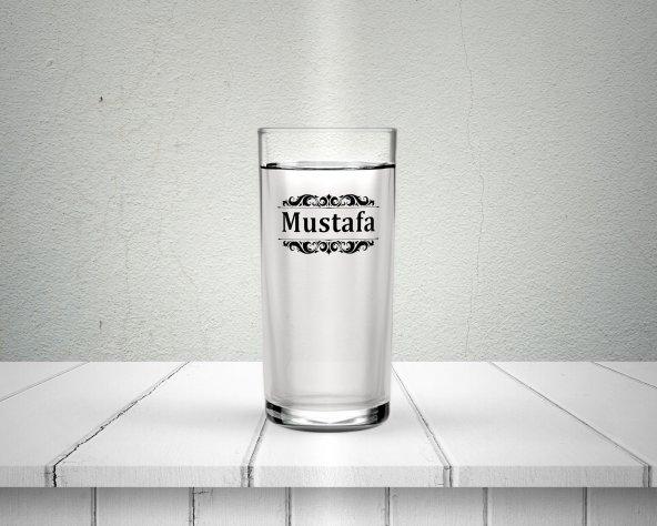 Kişiye Özel İsim Baskılı Rakı Bardağı