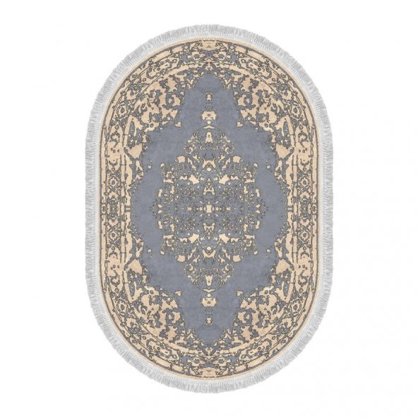 Decoling Safir 7010 Dekoratif Oval Halı