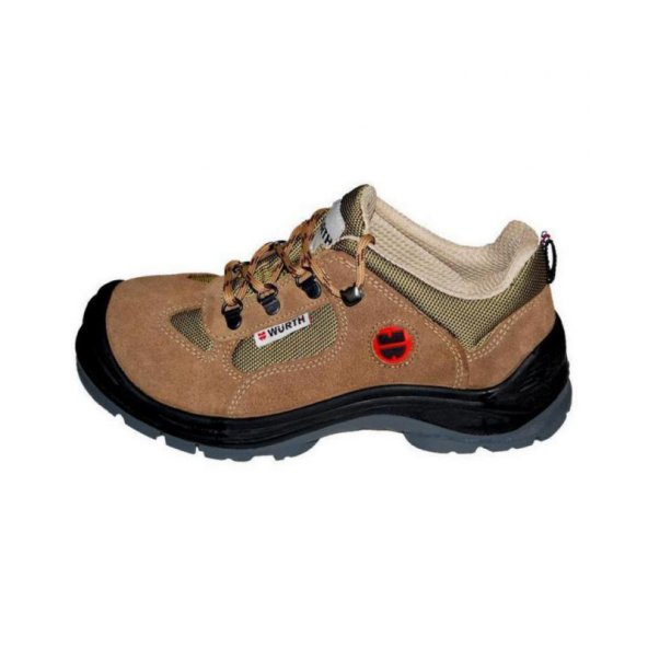 Würth S1-P Boğazsız İş Güvenliği Ayakkabısı Süet Bej 42 Numara