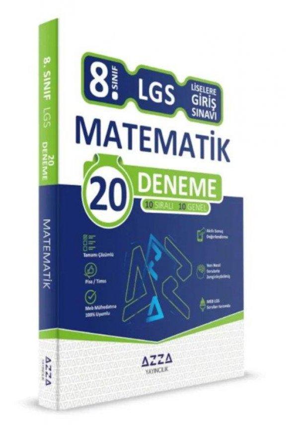 Azza 8. Sınıf LGS Matematik 20 Deneme