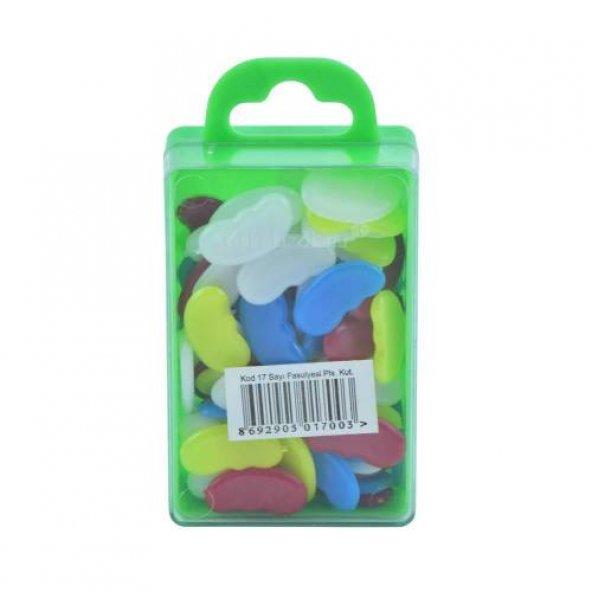 Sayı Fasulyesi Plastik Kutulu