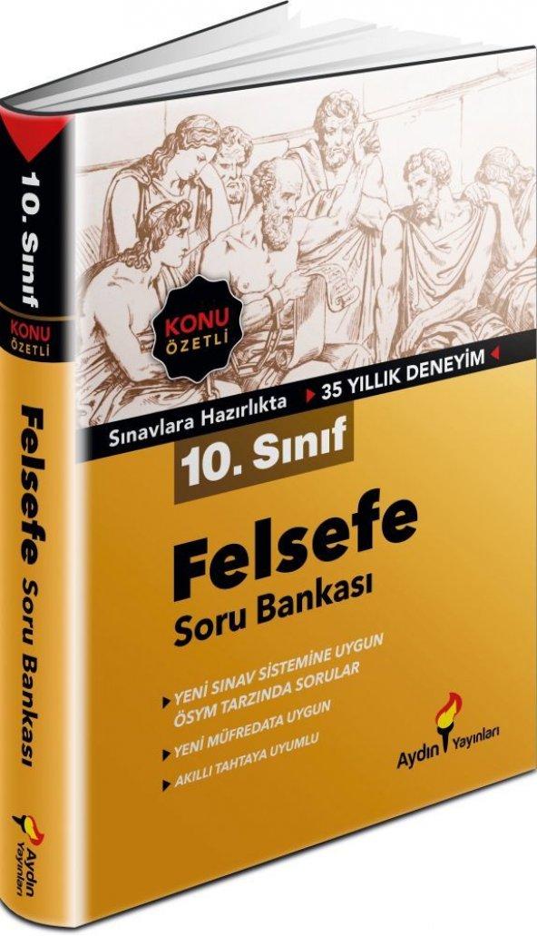 10. Sınıf Felsefe Konu Özetli Soru Bankası Aydın Yayınları