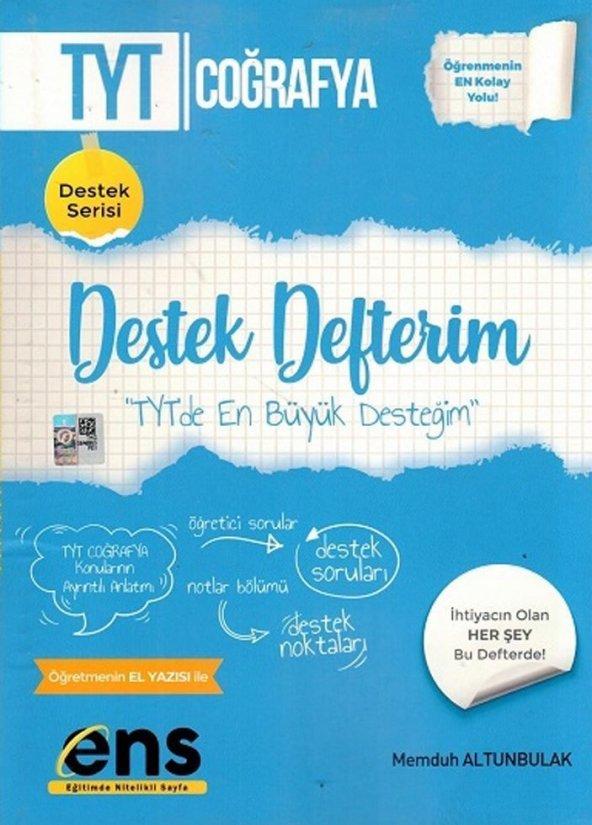 TYT Coğrafya Destek Defterim ENS Yayıncılık