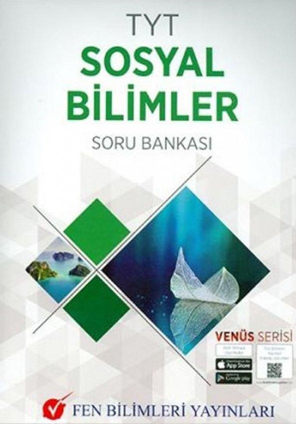 TYT Sosyal Bilimler Soru Bankası Venüs Serisi Fen Bilimleri Yayınları