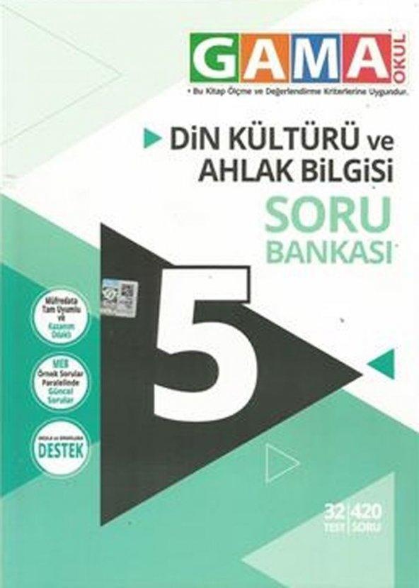 5. Sınıf Din Kültürü ve Ahlak Bilgisi Soru Bankası Gama Okul Yayınları