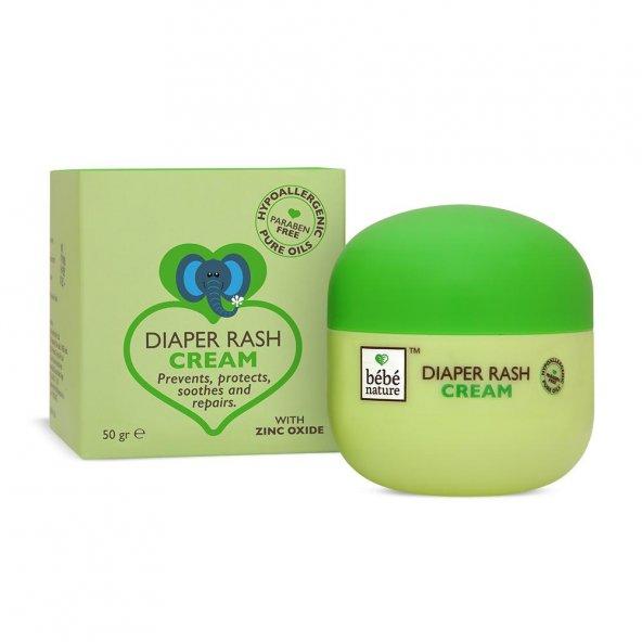 Bebe Nature Natural Diaper Rash Cream Pişik Kremi 50GR