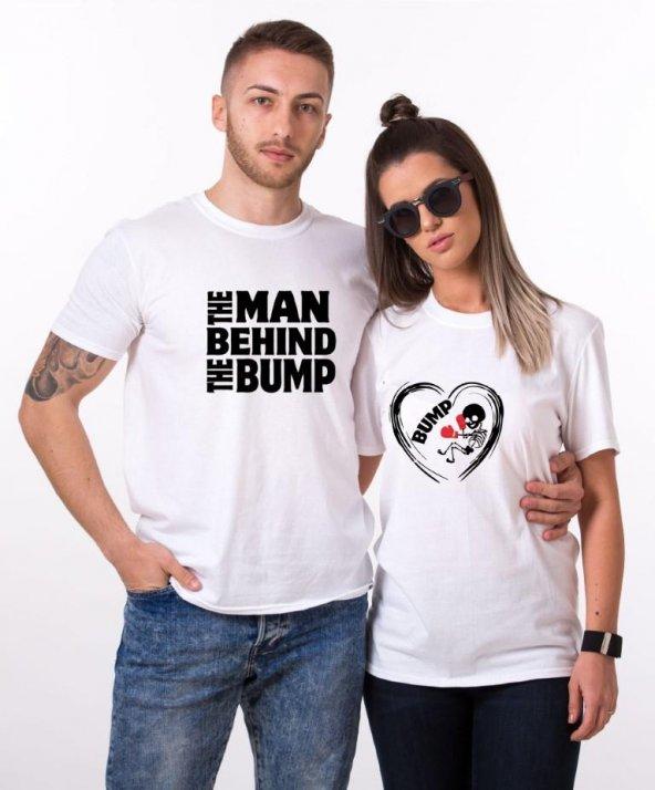 Tshirthane The Man Bump Sevgili Kombinleri tshirt kombini Sevgili Çift tshirt