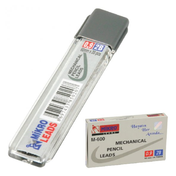 Mikromin Leads 0.9 mm Kalem Ucu 60 mm.