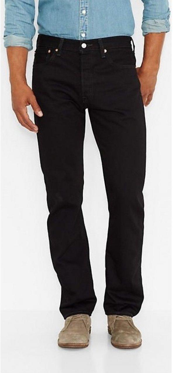 Levi's® 507 Siyah Kot Pantolon