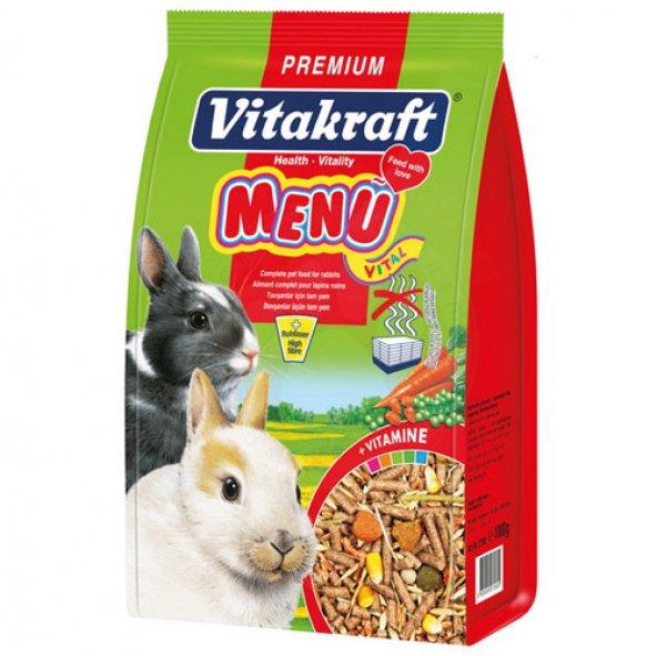 Vitakraft Menu Vital Tavşan Yemi 1000 Gr