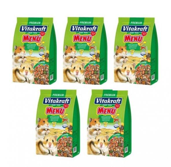 Vitakraft Menü Vital Hamster Yemi 5 Adet X 1000 Gr