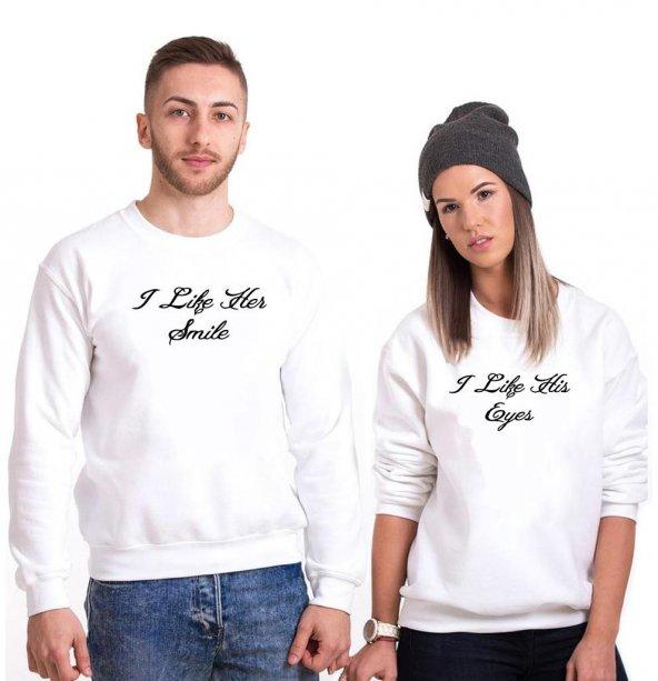 Tshirthane i Life Sevgili Kombinleri tshirt kombini Sevgili Sweatshirt Uzunkollu