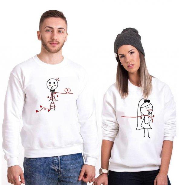 Tshirthane Aşk Sarmış Herbir Yanımı Sevgili Kombinleri tshirt kombini Sevgili Sweatshirt Uzunkollu