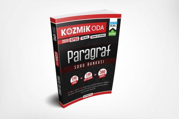2020 KPSS Kozmik Oda Paragraf Soru Bankası Kozmik Oda Yayıncılık
