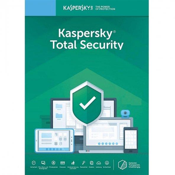 Kaspersky Total Security 2020 1 PC 1 Yıl (Elektronik Lisans)