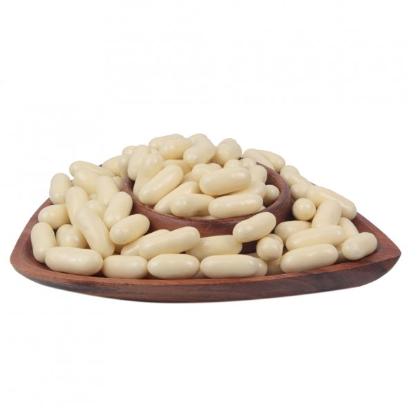 Fildişi Çikolatalı Portakal Draje (500 Gr)