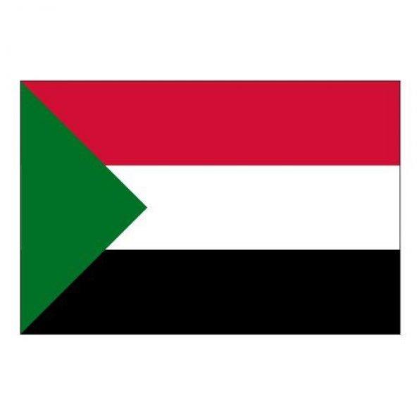 Sudan Gönder Ülke Bayrağı 150x225cm