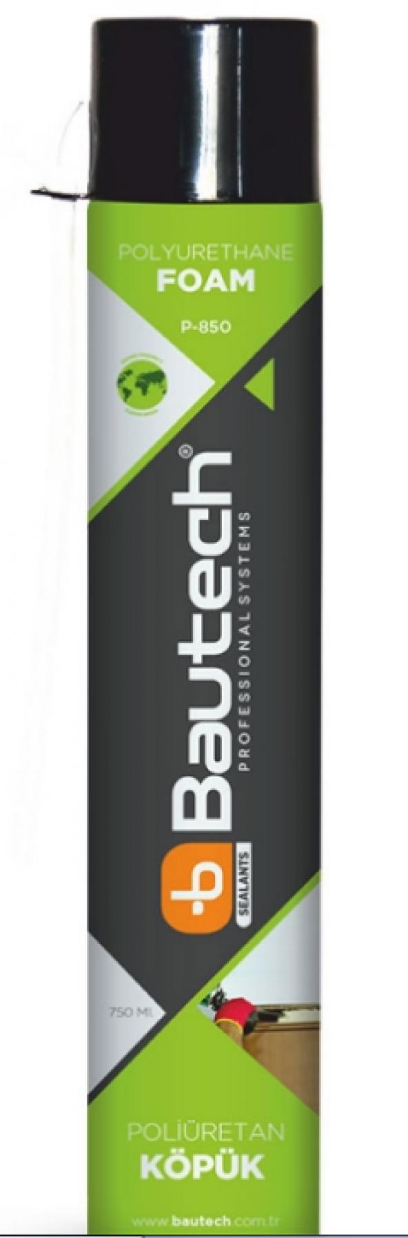 Bautech P-850 Poliüretan Köpük Pipetli 750 ml 850 gr