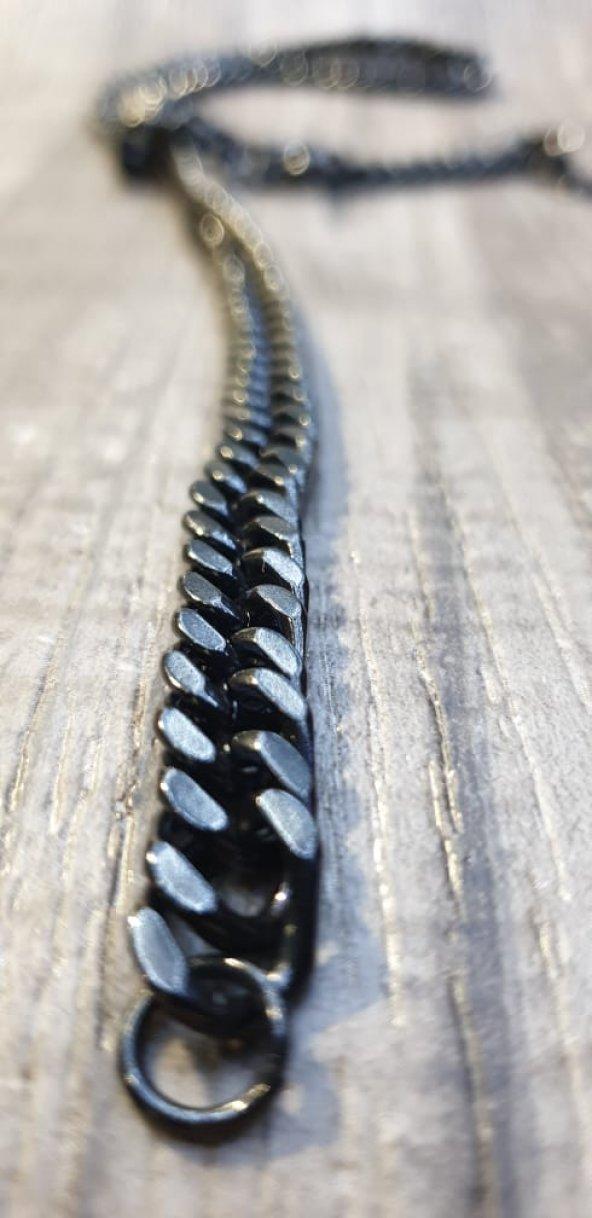 316L Çelik Siyah Zincir Kolye