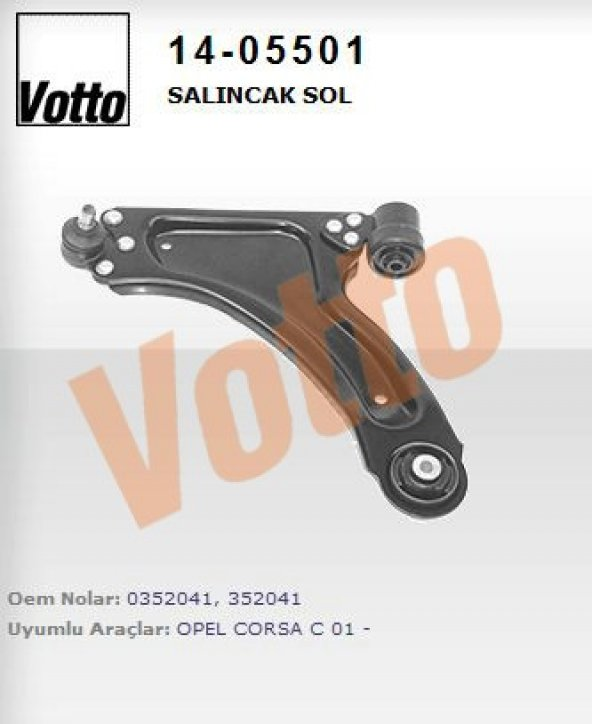 SALINCAK KOMPLE SOL OPEL COMBO 01-09 -CORSA C 00-(VOTTO)