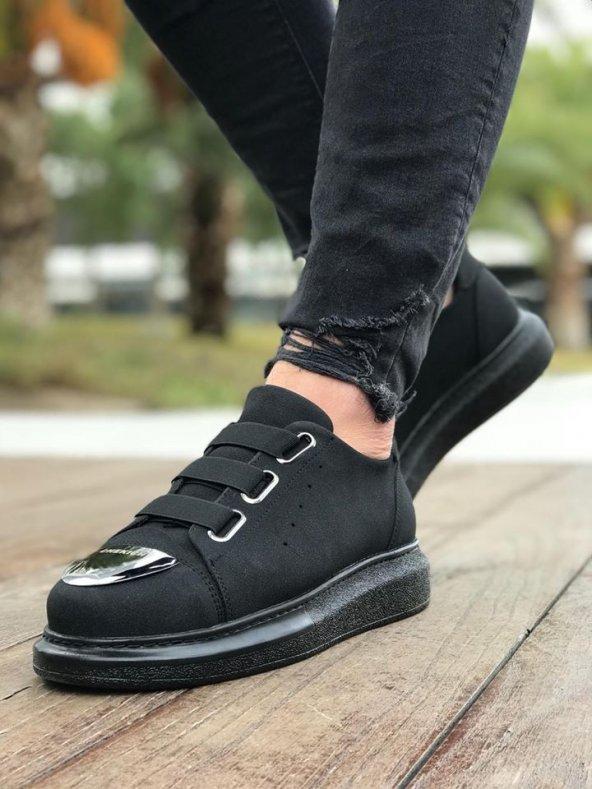 Chekich CH251 Süet ST Erkek Ayakkabı SİYAH