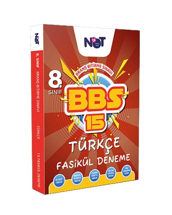 Binot Yayınları - 8.Sınıf - BBS - Türkçe - 15 Deneme