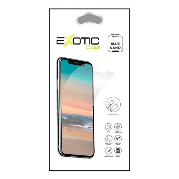 Galaxy A30S Exotic Case Blue Nano Ekran Koruyucu