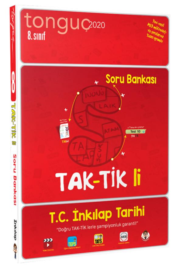 8. Sınıf T.C. İnkılap Tarihi ve Atatürk Taktikli - Tonguç Akademi