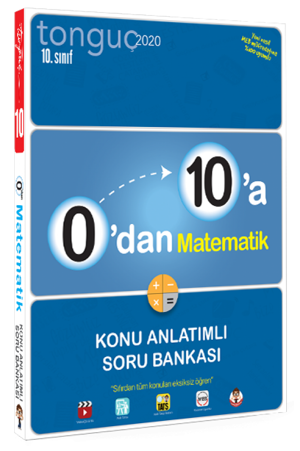 0dan 10a Matematik Konu Anlatımlı Soru Bankası - Tonguç Akademi
