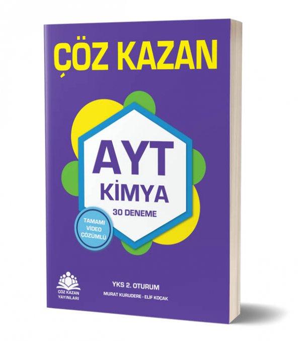 Ayt Kimya 30 lu Deneme - Çöz Kazan Yayınları