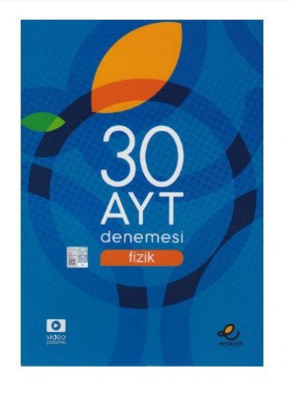 Ayt Fizik 30 lu Deneme  - Endemik Yayınları