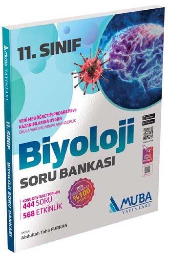 Muba Yayınları 11. Sınıf Biyoloji Soru Bankası - Muba Yayınları