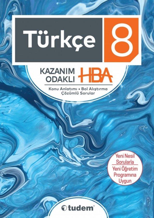 8.Sınıf Türkçe Kazanım Odaklı Hba  - Tudem Yayınları