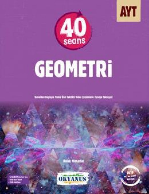 Ayt 40 Seans Geometri Soru Bankası - Okyanus Yayınları