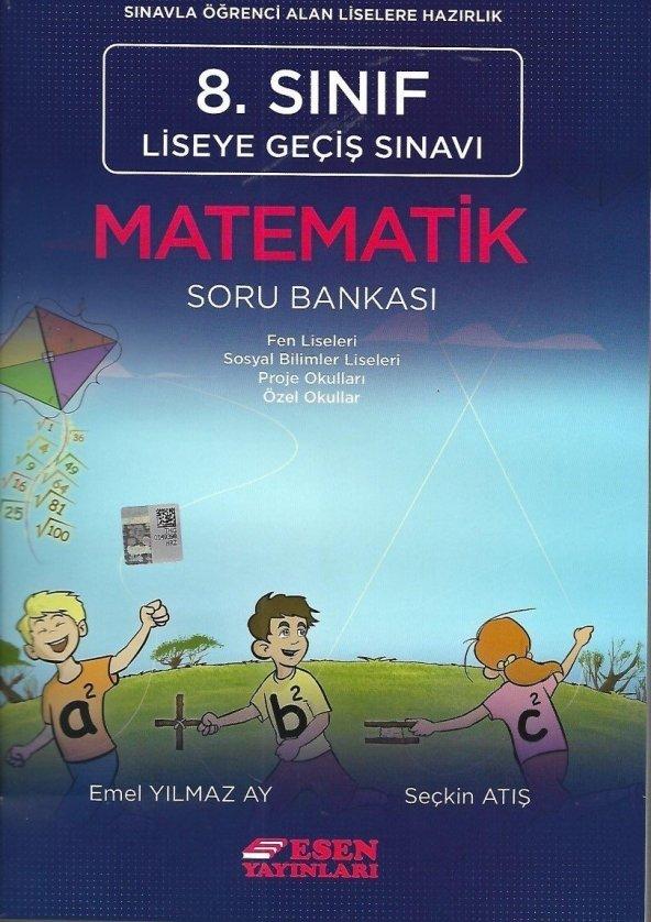 8. Sınıf LGS Matematik Soru Bankası - Esen Yayınları