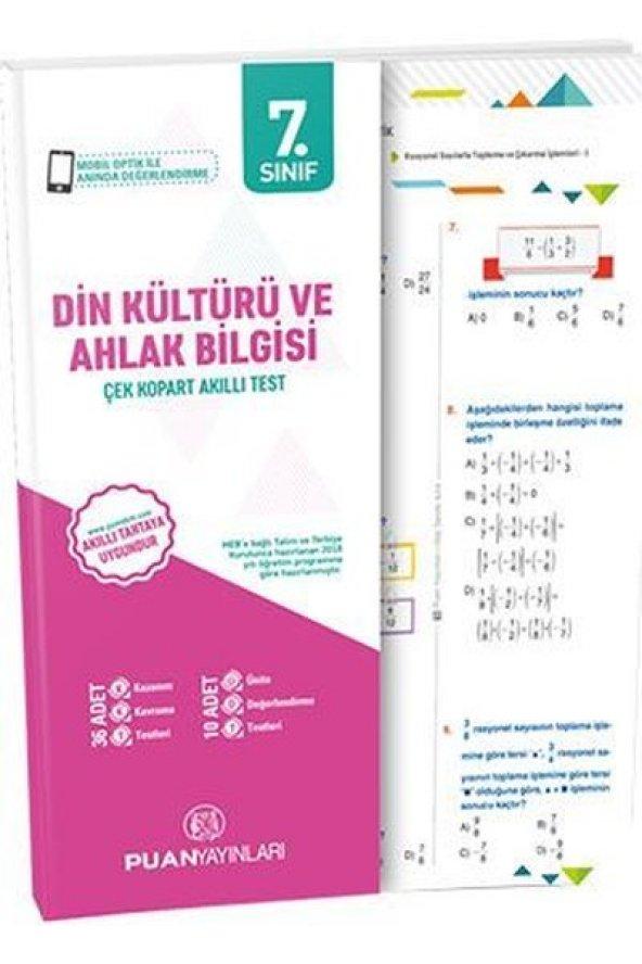 7.Sınıf Din Kültürü Yaprak Test - Puan Yayınları
