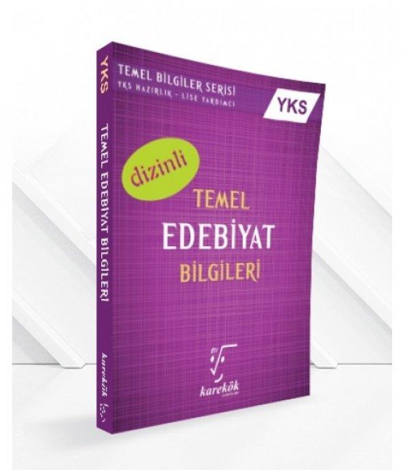 Karekök Yks 2.Oturum Ayt Temel Edebiyat Bilgileri - Karekök Yayınları