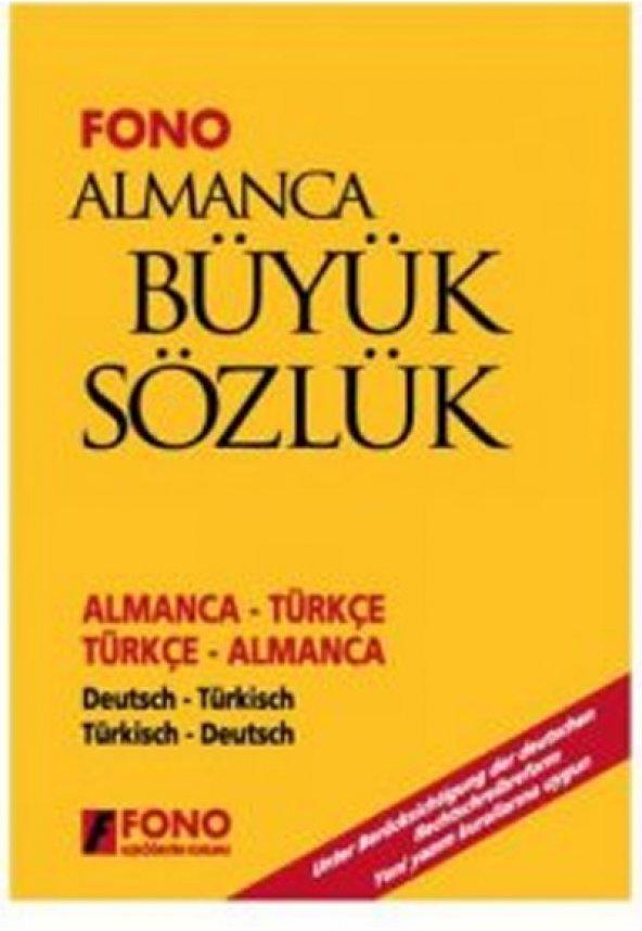 Almanca Büyük Sözlük - Fono Yayınevi