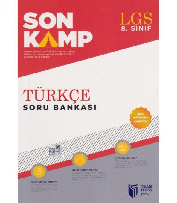 Son Kamp 8. Sınıf Türkçe Soru Bankası - Teas Yayınları